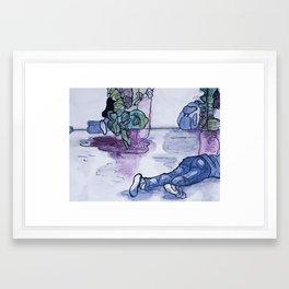Watercolor II Framed Art Print