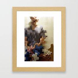 Zack Framed Art Print