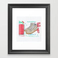 Mixed Media Framed Art Print