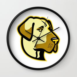 Anatolian Shepherd Dog Mascot Wall Clock