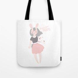 Summer Dreams Bunny Tote Bag