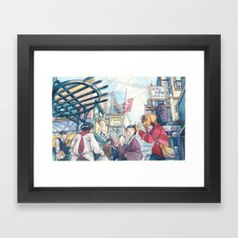 Cold In Yokohama 03 Framed Art Print