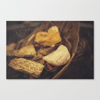 minerals Canvas Prints featuring Minerals by Sarah Lyles