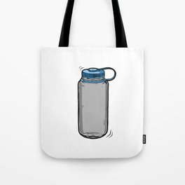 Nalgene water bottle wide mouth Art Tote Bag
