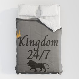 Kingdom 24/7 with Lion Comforters