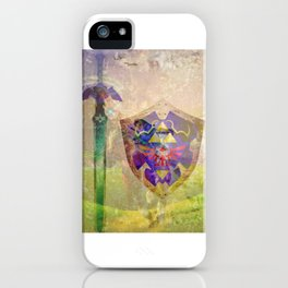 Ocarina of time composition iPhone Case