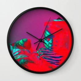 Innocent Red Wall Clock