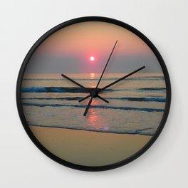 Sparkly Sunrise Wall Clock