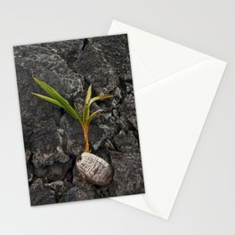 Blooming Against All Odds Stationery Cards
