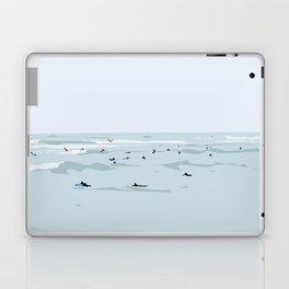 Lima, Peru, Playa Waikiki, Miraflores Travel Poster Laptop & iPad Skin