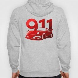 Porsche 911 - classic red - Hoody