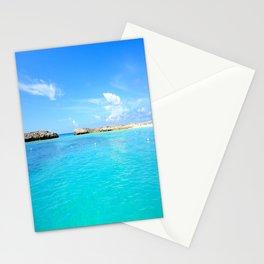 Aqua Water Beach Stationery Cards