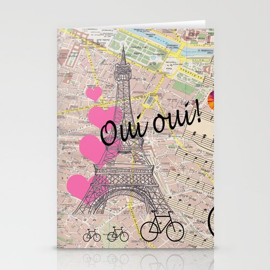 Oui Oui Stationery Cards