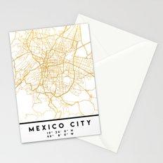 MEXICO CITY MEXICO CITY STREET MAP ART Stationery Cards