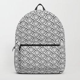 Spiral Wave pattern Backpack