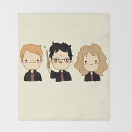 Happy Potter Throw Blanket