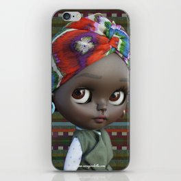 JANET BLYTHE DOLL BY ERREGIRO iPhone Skin
