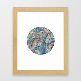 Void Color Framed Art Print