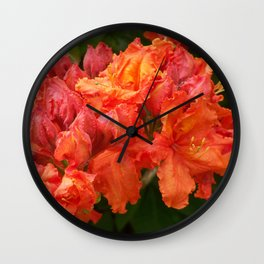 Beautiful red ones Wall Clock