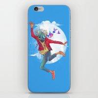 birdman iPhone & iPod Skins featuring BIRDMAN by GENO