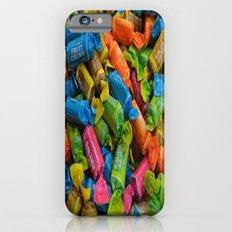 colorful tootsie rolls iPhone 6s Slim Case