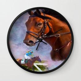 American Pharoah Wall Clock