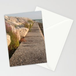 Walk along the water Stationery Cards