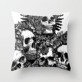 The Ancients Kings : Reunion Throw Pillow