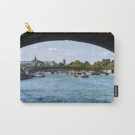 View from under the Pont Royal - Paris Carry-All Pouch