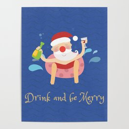 Drink & be merry Poster