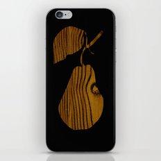 Wooden Pear iPhone & iPod Skin