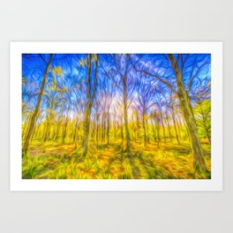 The Primeval Forest Art Print