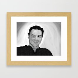 Norm Framed Art Print