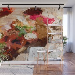 Breakfast for tourists in Groningen - Netherland Wall Mural
