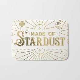 Made of Stardust – Gold Palette Bath Mat