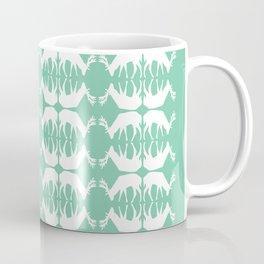 Oh, deer! in mint green Coffee Mug