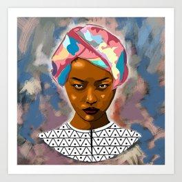 Binta Art Print