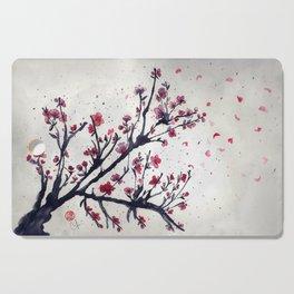 Sakura Sakura watercolour Cutting Board