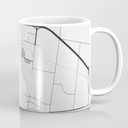 Melton - Victoria  Australia Gray City Map Coffee Mug