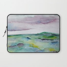 """""""337"""" abstract watercolor landscape Laptop Sleeve"""