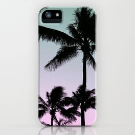 Silhouette Palms iPhone Case