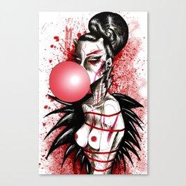 Bubblegum Bitch Canvas Print