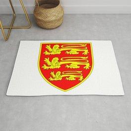 British Three Lions Shield Rug