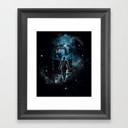 Time Traveller Framed Art Print