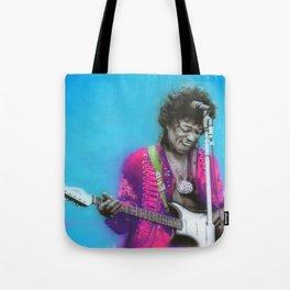'Aqua Haze' Tote Bag