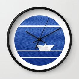 Origami-nimal Wall Clock