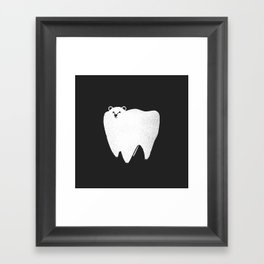 Molar Bear Framed Art Print