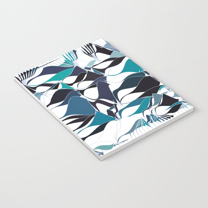 Abstract waves Notebook