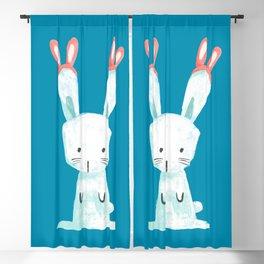 Four Eared Bunny Blackout Curtain