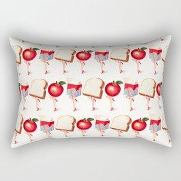 Lunch Ladies Pin-Ups Rectangular Pillow